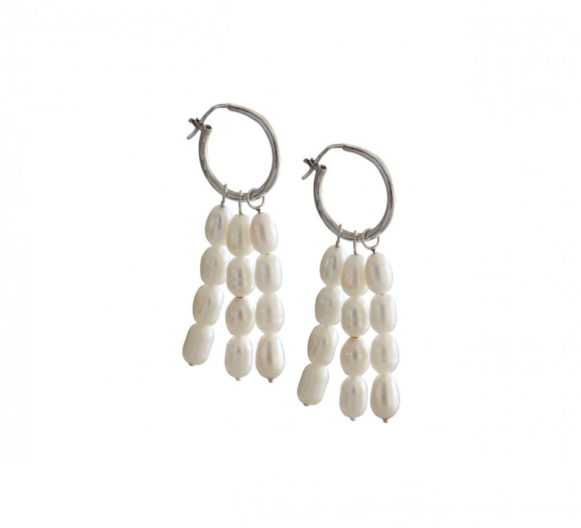 Cultured Pearl Dangler