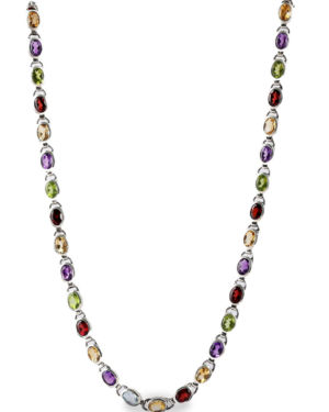 Coloured Stone Necklace